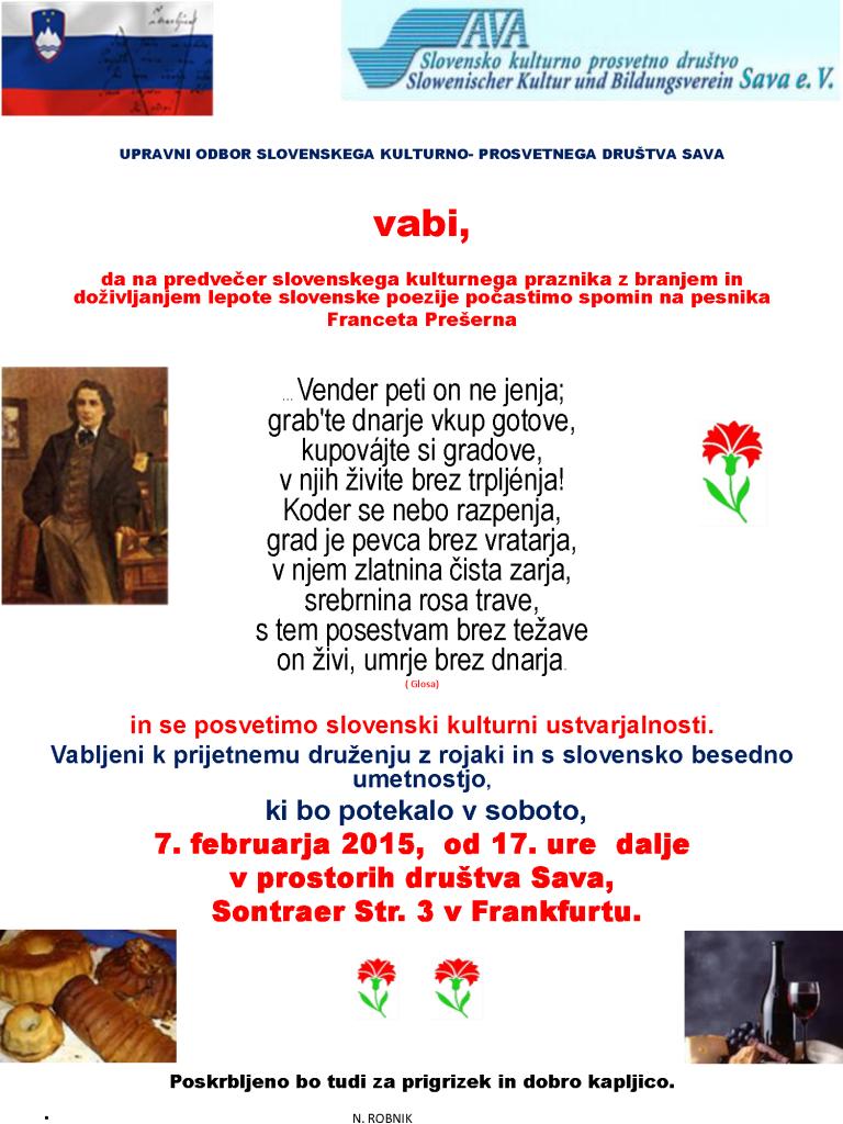 Pre. 15- vabi- Sava